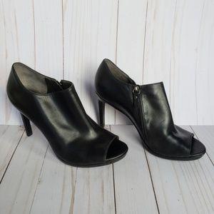 Via Spiga Open Toe Booties with Heels sz 9m